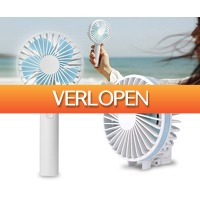 Voordeelvanger.nl 2: Draadloze draagbare ventilator