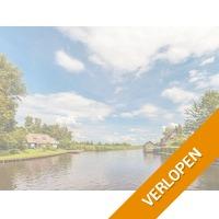 Er even tussenuit nabij Dwingeloo in Drenthe