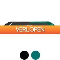 Betersport.nl: Trampoline - Salta Excellent Ground Rechthoek - 214 x 305 cm - zwart/groen