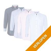 Donadoni stijlvolle Italiaanse overhemden