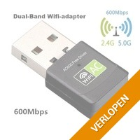 600 MBPS Dual band USB WiFi adapter