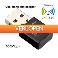 Dennisdeal.com: 600 MBPS Dual band USB WiFi adapter