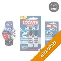 4-delig Henkel Loctite super lijmpakket