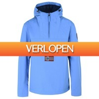 Onedayfashiondeals.nl: Napapijri - Rainforest M Sum 1 Light Blue