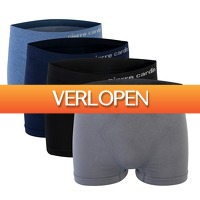 Onedayfashiondeals.nl: Pierre Cardin - 4-Pack Seamless Boxers - Mix