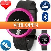 Uitbieden.nl 3: S6 dames smartwatch met hartslagmeter en pedometer