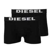 Onedayfashiondeals.nl 2: Diesel - 2-pack boxers - zwart/zwart
