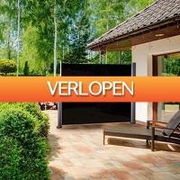 Koopjedeal.nl 1: Luxe uittrekbare wind- / zonneschermen
