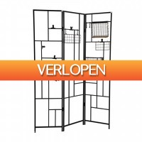 Xenos.nl: 3-delig wandrek / kamerscherm