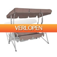 VidaXL.nl: Hang schommelstoel met luifel