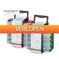 GroupActie.nl: Adler | Kraft 1001-Delige Gereedschap Accessoire Opbergbox