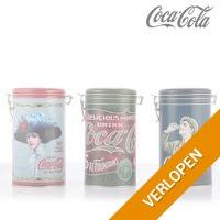 Coca-Cola vintage blikken