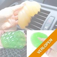 Sticky soft gum cleaner