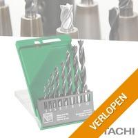 Hitachi Hikoki hout spiraalboren 8-delig