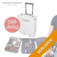 Adler Kraft 399-delige gereedschapskoffer