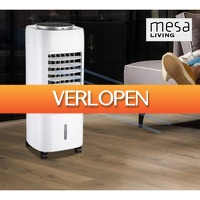 Koopjedeal.nl 1: Mesa Living 2-in-1 Krachtige Mobiele Aircooler en Luchtbevochtiger