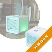 Camry Easy air cooler met sfeer verlichting