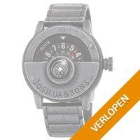 Joshua & Sons Compass Einzeigers herenhorloge