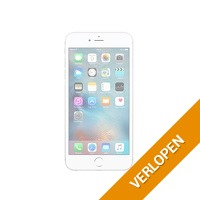 Refurbished iPhone 6 zilver 16 GB