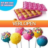 Gadgetsgift.nl: Siliconen cakepop bakvorm