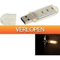 Uitbieden.nl 2: USB 3 LED Licht lamp voor Laptops en PCs
