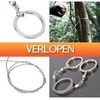 Uitbieden.nl 2: Multifunctionele survival handzaag/draadzaag