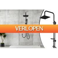 Voordeeldrogisterij.nl: Luxe verchroomde regendouche XXL