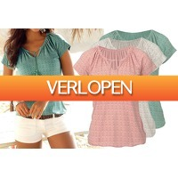 VoucherVandaag.nl 2: Pattern dames T-shirt