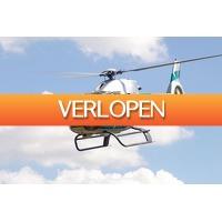 VakantieVeilingen: Veiling: Helikoptervlucht boven Nederland of Belgie (1 p.)