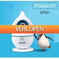 Uitbieden.nl: Escam Penguin QF521 babyfoon met camera