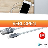 Wilpe.com - Elektra: eSTUFF Lightning oplaadkabel 1 M orgineel