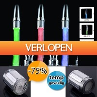 DealDigger.nl 2: LED-opzetstuk voor de kraan