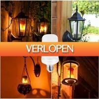 ClickToBuy.nl: LED vlammen effect lamp