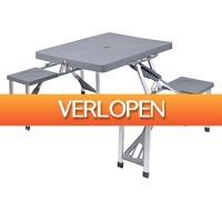 Voordeeldrogisterij.nl: Redcliffs Outdoor Gear opvouwbare picknicktafel