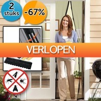 DealDigger.nl 2: 2 x magnetisch muggenscherm
