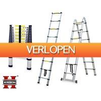 Voordeelvanger.nl: Herzberg telescopische ladders