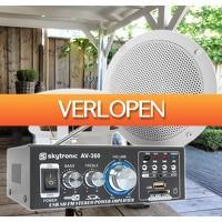 MaxiAxi.com: SkyTronic TS05 buiten speakers