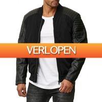 Brandeal.nl Casual: Tazzio Jacket met ritssluiting