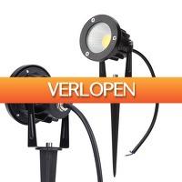 ClickToBuy.nl: 230V LED gazon spot