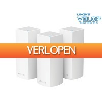 iBOOD.be: Linksys Velop Tri-band Mesh systeem