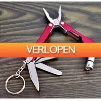 Uitbieden.nl 2: 6-in-1 mini multitool sleutelhanger gadget