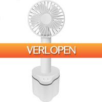 GroupActie.nl: FlinQ draagbare oplaadbare ventilator