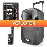 MaxiAxi.com: MAX P12BT mobiele speaker
