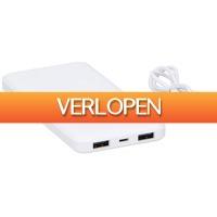 Stuntwinkel.nl: Draadloze oplader/powerbank 2-in-1