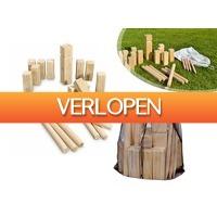 DealDonkey.com 3: Kubb houten kegelspel - XXL