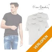 6-pack Pierre Cardin basic T-shirts