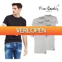 Koopjedeal.nl 2: 6-pack Pierre Cardin basic T-shirts