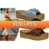 VoucherVandaag.nl: Plateauslippers