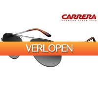 iBOOD.be: Carrera Pilot Steel zonnebril