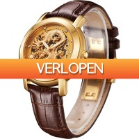 Uitbieden.nl: Angela Bos 9007 G Automatic Wind 3ATM Dragon Collection